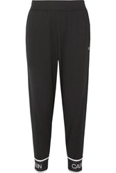 Calvin Klein Stretch Jersey Track Pants Black