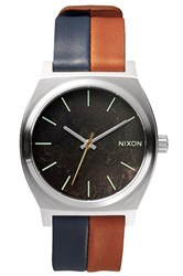 Nixon Time Teller Dark Copper Navy Saddle