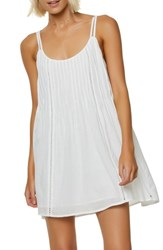O'neill Kaylyn Pleat Sundress White