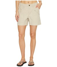 Royal Robbins Backcountry Billy Goat R Canvas Shorts Sandstone Women's Shorts Beige