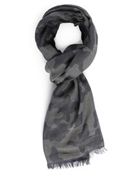 Bill Tornade Grey Camo Scarf