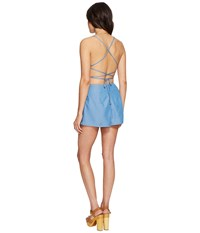 Lovers Friends Anna Romper Ocean Women's Jumpsuit And Rompers One Piece Blue