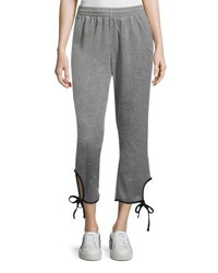 Opening Ceremony Torch Tie Track Pants Gray