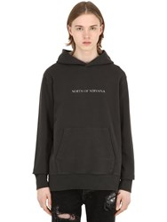 Ksubi N.O.N. Printed Cotton Sweatshirt Hoodie Black