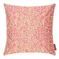 Clarissa Hulse Garland Cushion 45X45cm Pebble Neon Lemon Coral