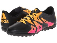 Adidas X 15.4 Tf Black Shock Pink Solar Gold Men's Soccer Shoes