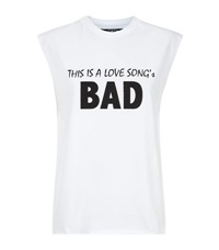 This Is A Love Song Bad Cut Off T Shirt