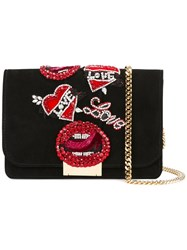 Gedebe 'Clicky' Clutch Black
