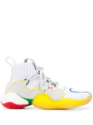 Adidas By Pharrell Williams Crazy Byw Lvl X Hi Tops White