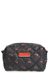 Marc By Marc Jacobs 'Large Crosby' Quilted Nylon Cosmetics Case Cherry Print