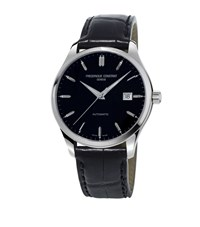 Frederique Constant Classics Index Automatic Watch Unisex Silver