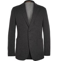 Berluti Charcoal Double Faced Cashmere Blend Blazer