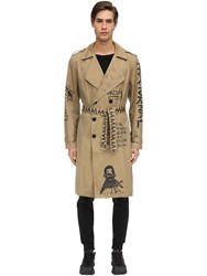 Haculla There's No Future For You Cotton Trench Beige