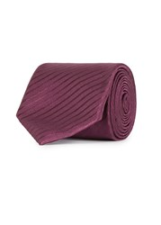 Pal Zileri Purple Striped Silk Tie