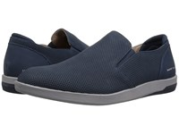 Mark Nason Lite Block Felton Navy Slip On Shoes