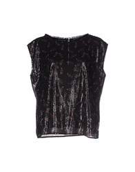 Soallure Topwear Tops Women Black