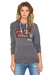 Obey Cash For Chaos Hoodie Gray