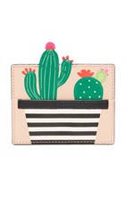 Kate Spade New York Cactus Card Holder Multi