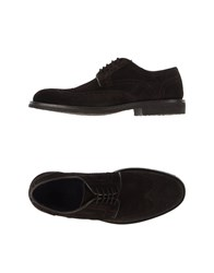 Sebastian Footwear Lace Up Shoes Men Dark Brown