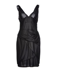 Caractere Short Dresses Black