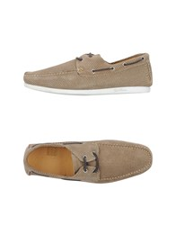 Gold Brothers Footwear Moccasins Men Khaki