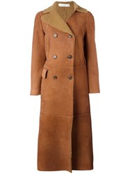 Golden Goose Deluxe Brand 'Johanna' Coat Brown
