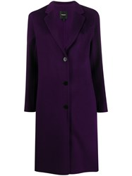 Theory Long Double Faced Coat 60