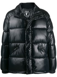 Save The Duck Funnel Neck Padded Jacket Black