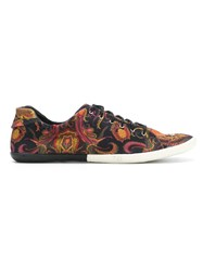 Osklen Printed Sneakers Black