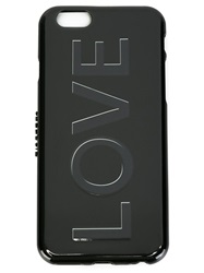 Givenchy Love Iphone 6 Cover Black