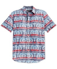 American Rag Vernor Aztec Short Sleeve Shirt Only At Macy's