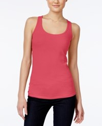 Planet Gold Juniors' Racerback Tank Top Red Icing