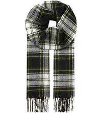Sandro Wool And Cashmere Scarf Green