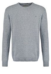 New Man Elby Jumper Gris Chine Mottled Grey