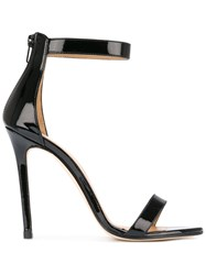 Marc Ellis Ankle Strap Sandals Black