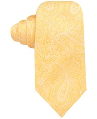 Countess Mara Augustin Paisley Tie Yellow