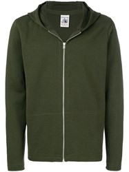 S.N.S. Herning Zipped Hoodie Green