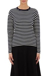 Tomorrowland Breton Striped Sweater Blue