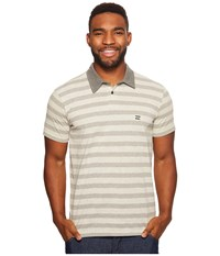 Billabong Bonito Polo Light Grey Heather Men's Clothing Gray