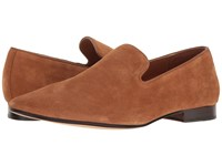 Sam Edelman Bryan Tan Cow Suede Leather Men's Dress Flat Shoes Brown
