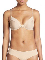 Josie Natori Risque Low Cut Underwire Bra Cafe
