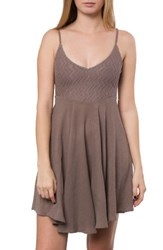 O'neill Women's Kayleigh Dress Driftwood