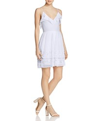 French Connection Adanna Pleated Dress Salt Water