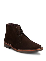 Ben Sherman Clinton Stitched Ankle Boots Brown