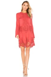 The Jetset Diaries Vierna Shift Dress Red