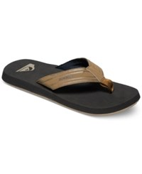 Quiksilver Monkey Wrench Sandals Tan