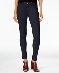 Tommy Hilfiger Greenwich Sateen Skinny Pants Only At Macy's Navy