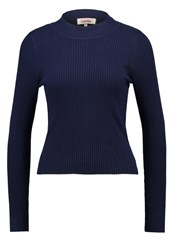 Louche Ollie Jumper Navy Dark Blue