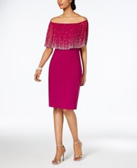 Msk Embellished Off The Shoulder Dress Audacious