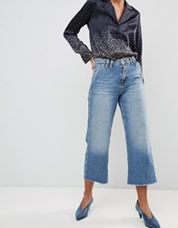 Pepe Jeans Patsy Cropped Flared Light Blue